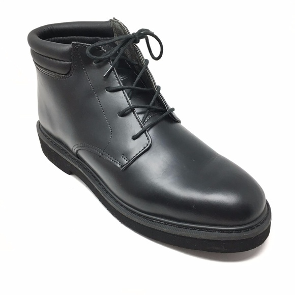 ROCKY Other - Men's Rocky Polishable Work Ankle Boots Sz 10.5EE